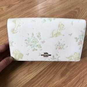 Disney x Coach Callie Folder Wallet on Chain